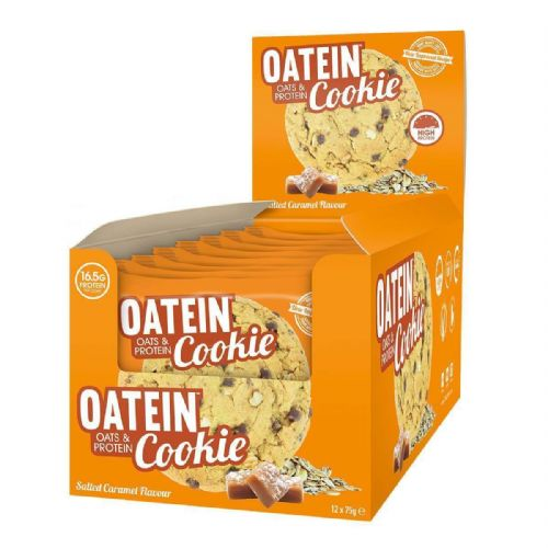 OATEIN HIGH PROTEIN COOKIES 12 x 75g